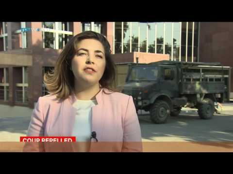 Coup plotters invade TRT World building in Istanbul  Sourav Roy reports