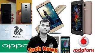 Tech News #65- UC Browser Ban, Xiaomi Redmi Note 5, HTC Update Android 8.0, Vodafone 38