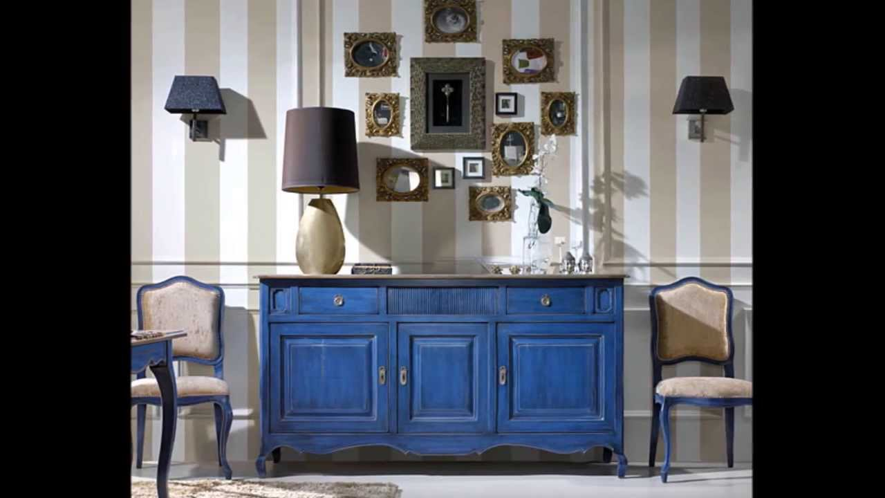 decora con muebles en azul youtube