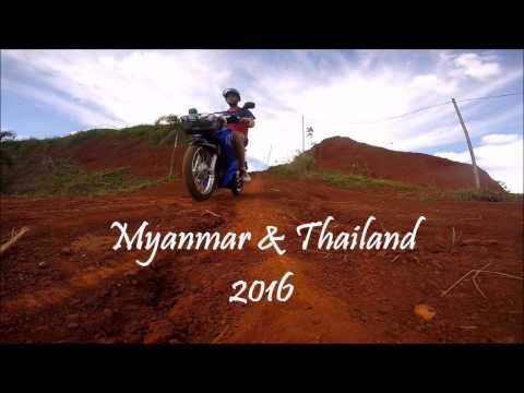 Mynmar & Thailand - GoPro 2016