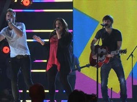 Academy of Country Music Awards - Lady Antebellum Interview