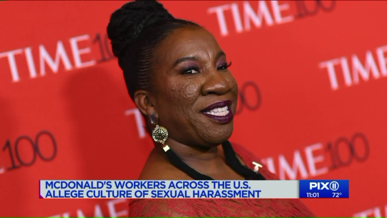 McDonald`s employees across U.S.  Me Too Protest over their culture of sexual harassment