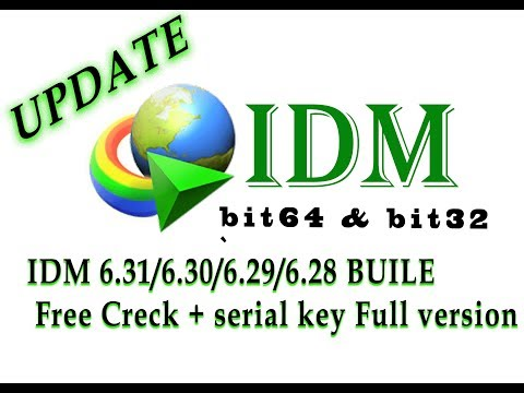 Internet Download Manager IDM 6.31/6.30/6.29/6.28 For Free + Serial Key Crack Full Version