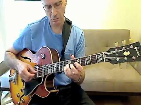 Dan Adler playing along with Joe Pass
