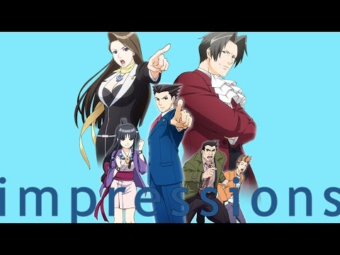 Impressions: Ace Attorney