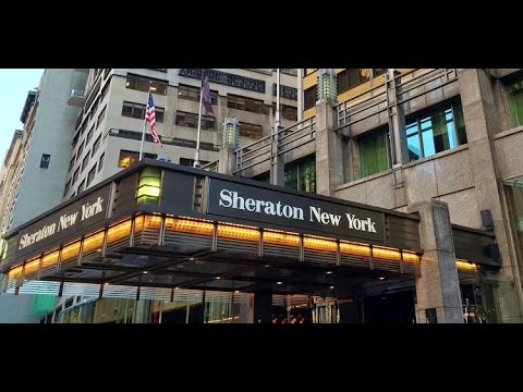 HD Video Walk Through Rooms Sheraton New York Times Square Hotel