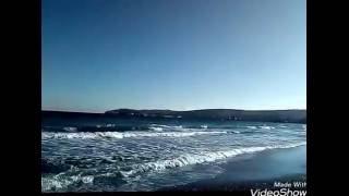 Крым Феодосия море вид берег
