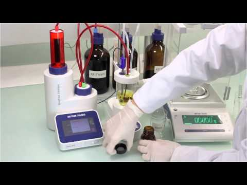 EasyPlus - How To Perform Karl Fisher Titration