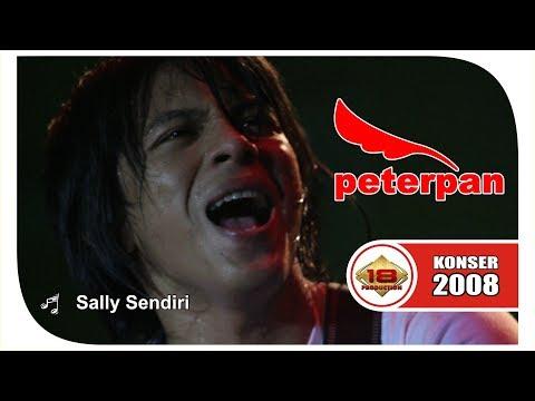 Bukan ARIEL kalo GAK BEGINI !!! Peterpan - Sally Sendiri (Live Konser Bontang 3 Maret 2008)