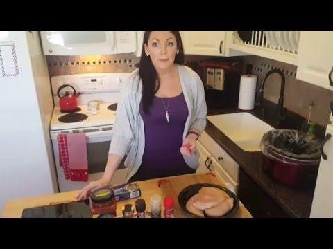 Healthy Crockpot Dish: Salsa Chicken