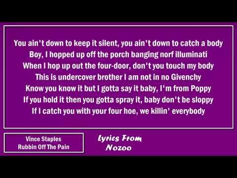 Vince Staples - Rubbin Off The Paint (Freestyle) (Lyrics)