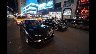 CRAZIEST CAR MEET IN TIMES SQUARE!!