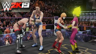 Kefla and Captain Mizuki v Fangirl and Mother Russia - WWE 2K19 Requested Tornado Tag Match