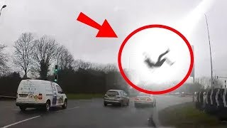 10 SCARIEST Moments Caught on DASHCAM