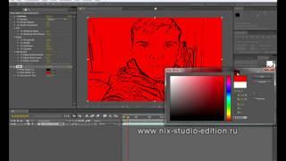 Стилизация видео. Cartoon - Эффект