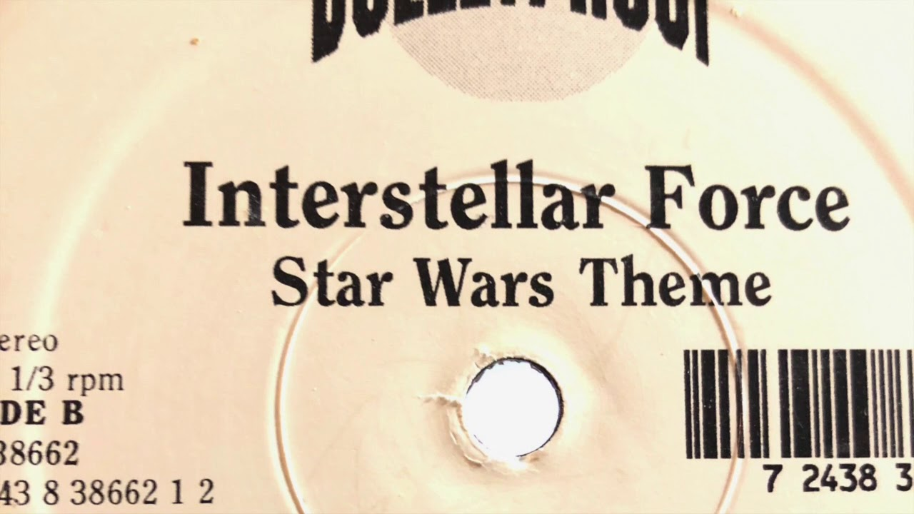 Vinyl Verisons Interstellar Force Star Wars Theme Youtube