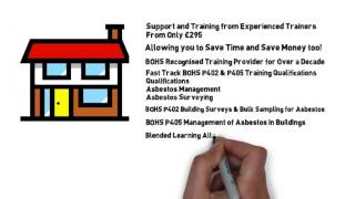 BOHS Asbestos Qualifications P402 and P405 Training... The Fast Track to your Career Success!