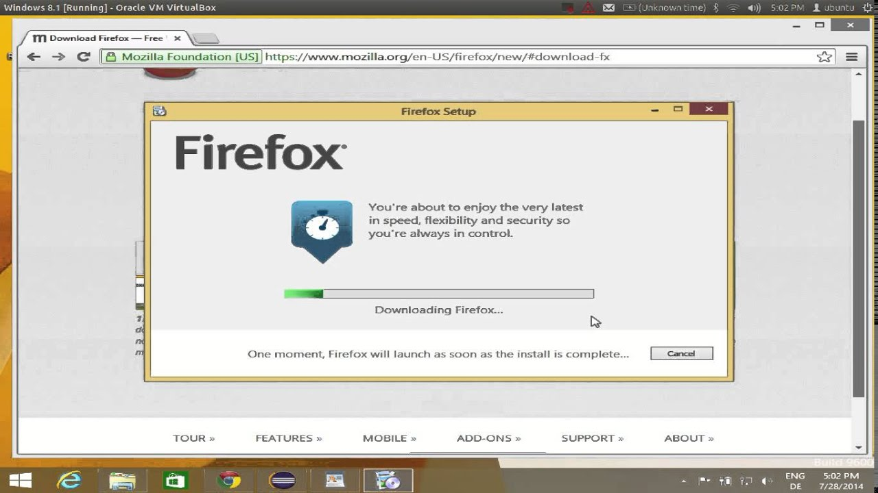 How to download and install Firefox on Windows 8 / Windows 8 1