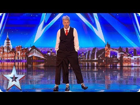 Old School variety act Jon Davison is pulling our legs!  Auditions  BGT 2018