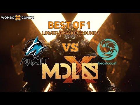 Adroit vs Beastcoast | MDL Chengdu Major Playoffs Lower Bracket Round 1