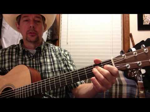 Neon Moon Intro & Chords in A with Bass Pattern - Brooks & Dunn