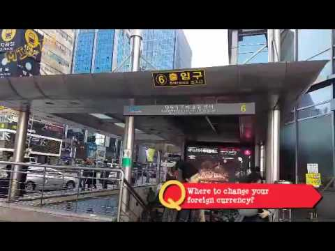 [MIR.tv] South Korea, Myeongdong - Best place to exchange money