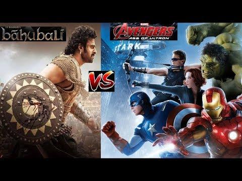 Avenger Fight Feat  Kaun Hai Woh (Bahubali )