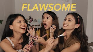 15 MINS MAKEUP CHALLENGE WITH FLAWSOME