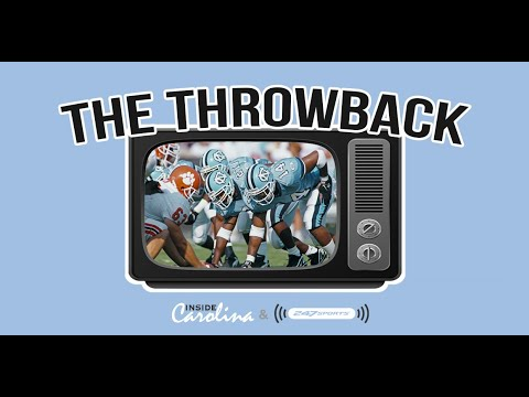 Video: The Throwback Podcast - UNC Football Crushes Clemson in '96