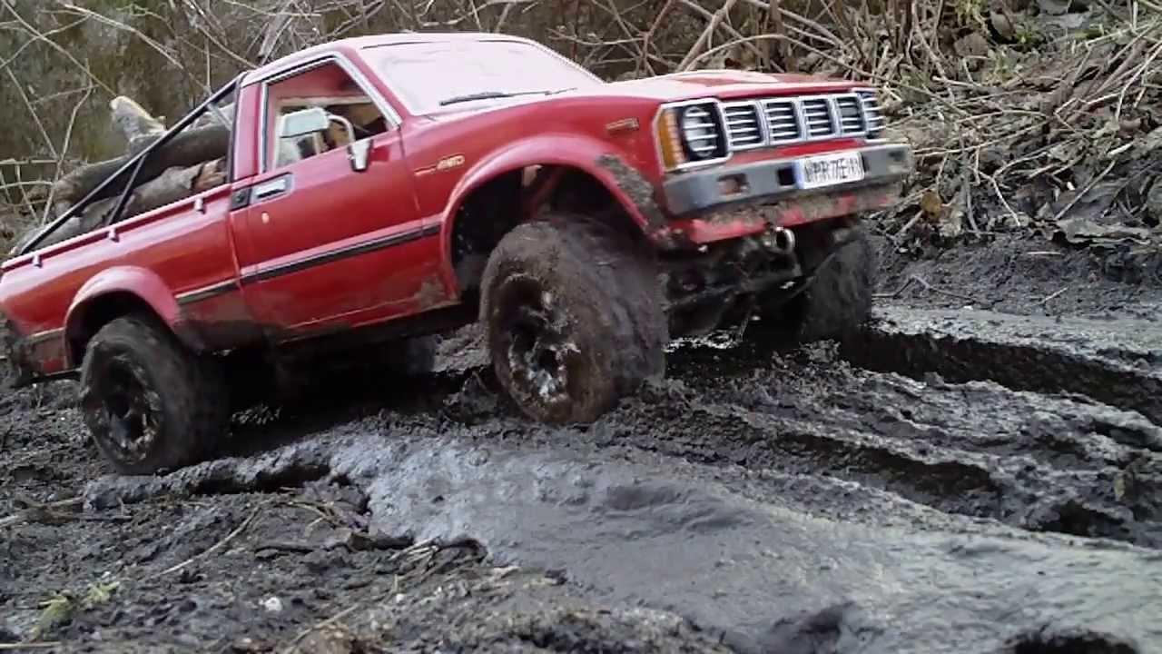 Toyota Hilux in mud