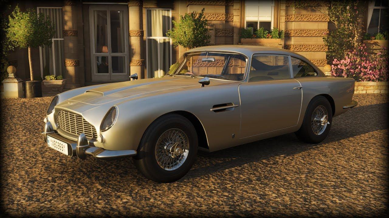 Forza Horizon 4 1964 Aston Martin Db5 007 Version Youtube