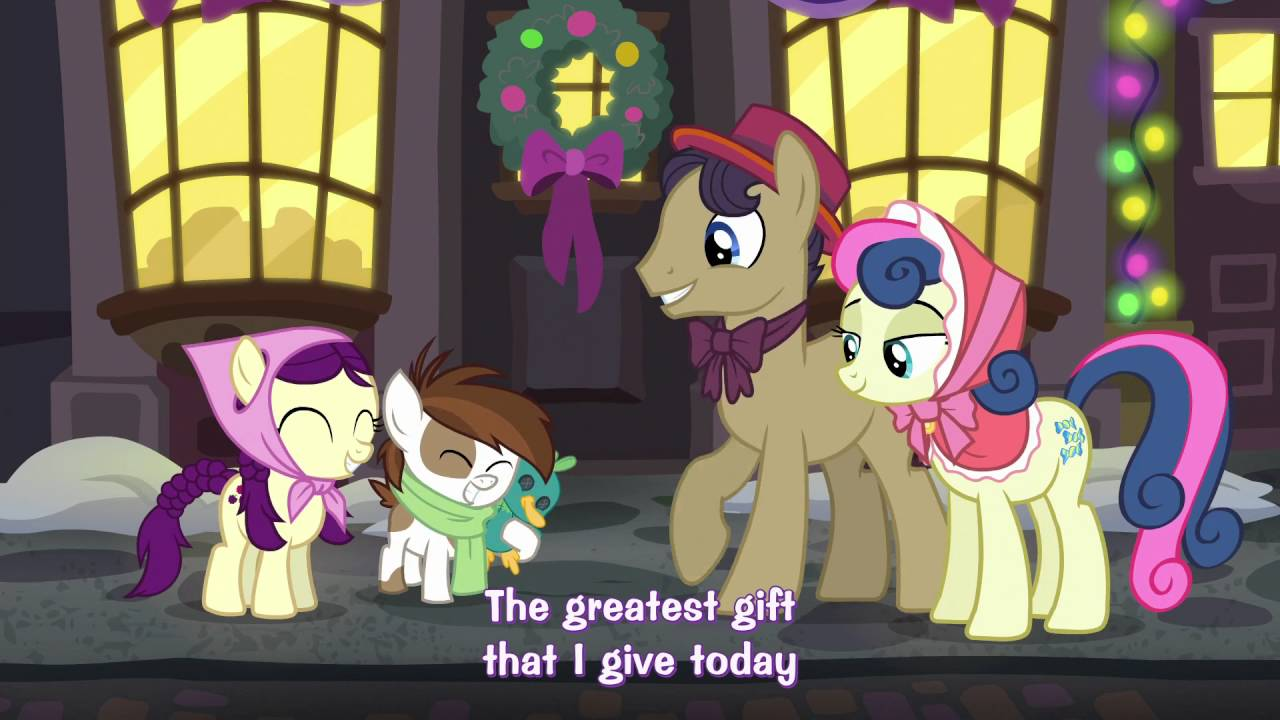 My Little Pony Fim Say Goodbye To The Holiday Instrumental Youtube