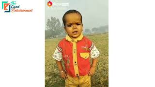 Cute Indian Child speaking funny dialogues