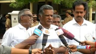 Mutharasan speaks after meeting Karunanidhi at his Gopalapuram residence | News7 Tamil