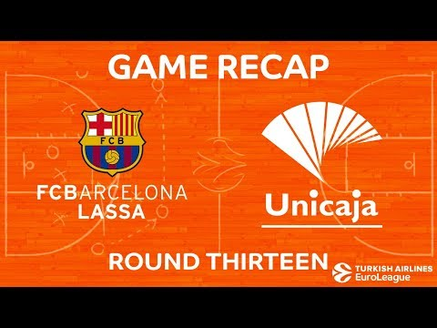 Highlights: FC Barcelona Lassa - Unicaja Malaga