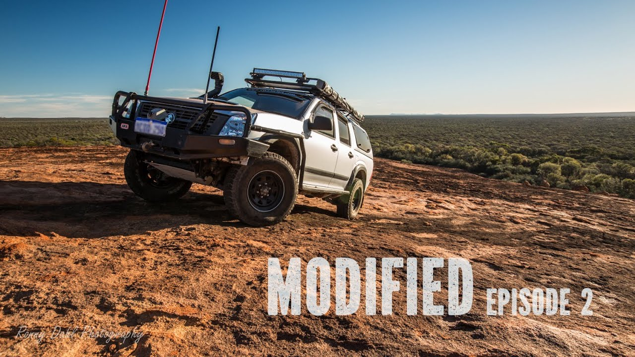 Holden Rodeo, Modified