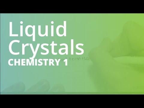 Liquid Crystals I Chemistry