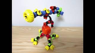 [코딩을 만지다] 팀보로봇 동작 - 강아지,카네이션,천…