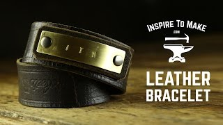 DIY Leather Bracelet(, 2015-12-12T15:00:03.000Z)