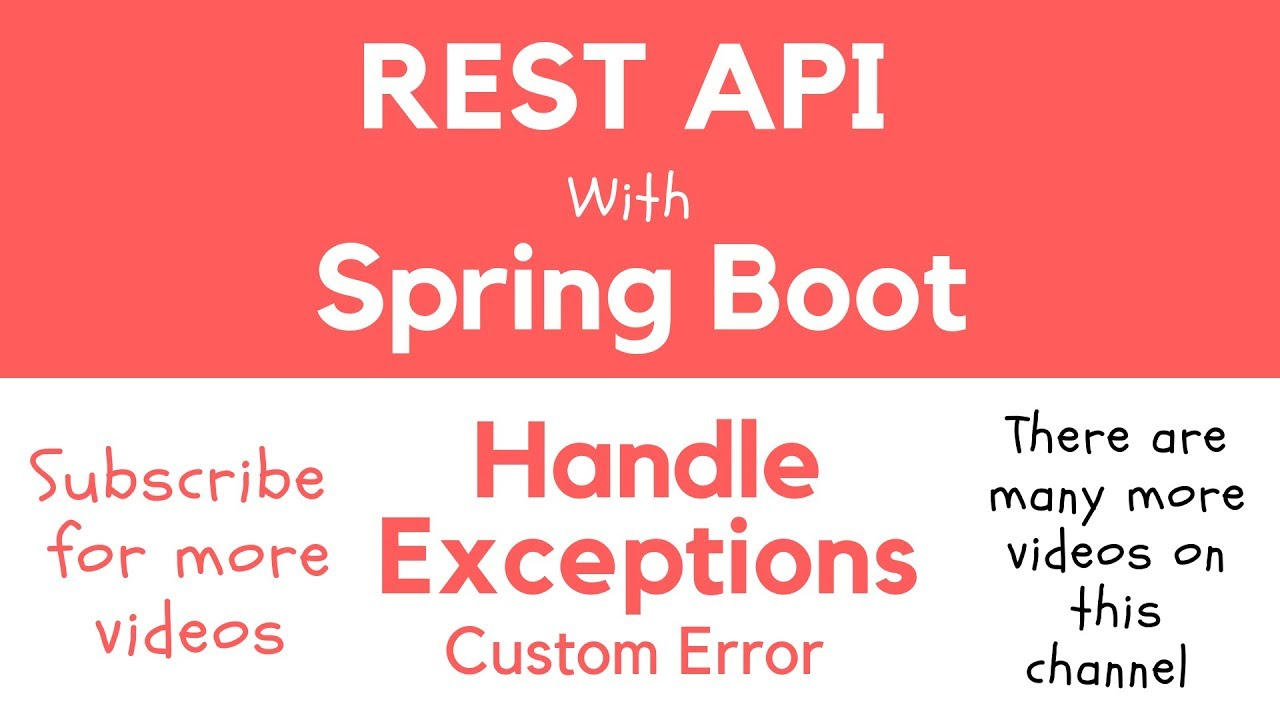 Handle Exceptions in Spring Boot RESTful Service - Apps Developer Blog