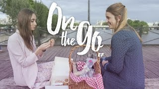 Maria & Philippine have a Parisian pique-nique – On the go with EF #3