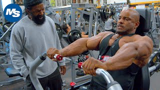 Chest Workout | Charles Glass Trains Errol Moore at The Mecca