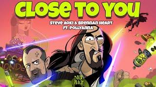 Смотреть клип Steve Aoki X Brennan Heart Ft. Pollyanna - Close To You