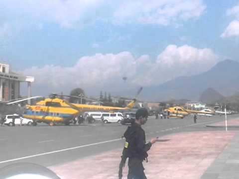 Lai Châu: 03 trực thăng lên cứu hộ nạn nhân sập cầu Tại Chu Va