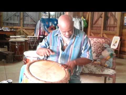 Les 7 rythmes du Gwoka. Original.