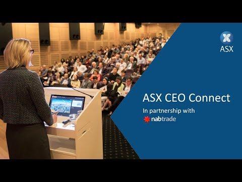 ASX CEO Connect Melbourne – 29 March 2018