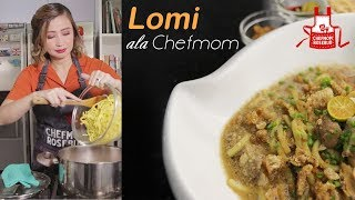 Perfect Rainy Day Meryenda: Lomi Ala Chef Mom