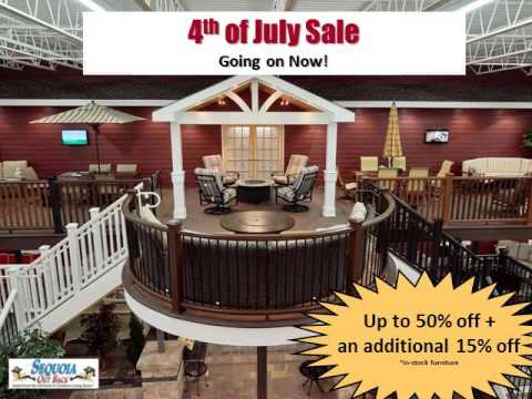 Sequoia Out Back's 4th Of July Sale With Debella