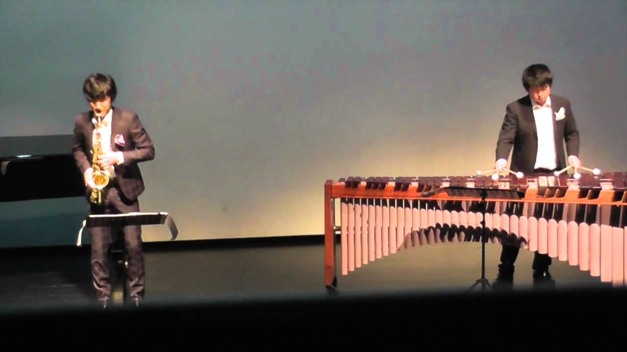 Divertiment for Marimba and Alto Saxophone / Akira Yuyama