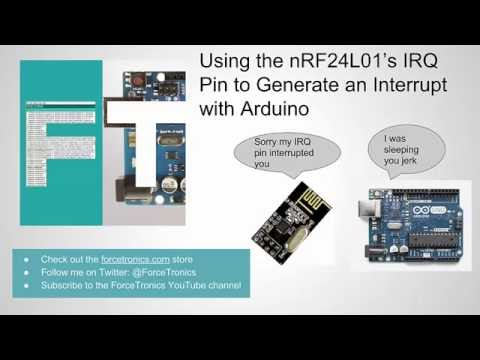 how to use nrf24l01 with arduino